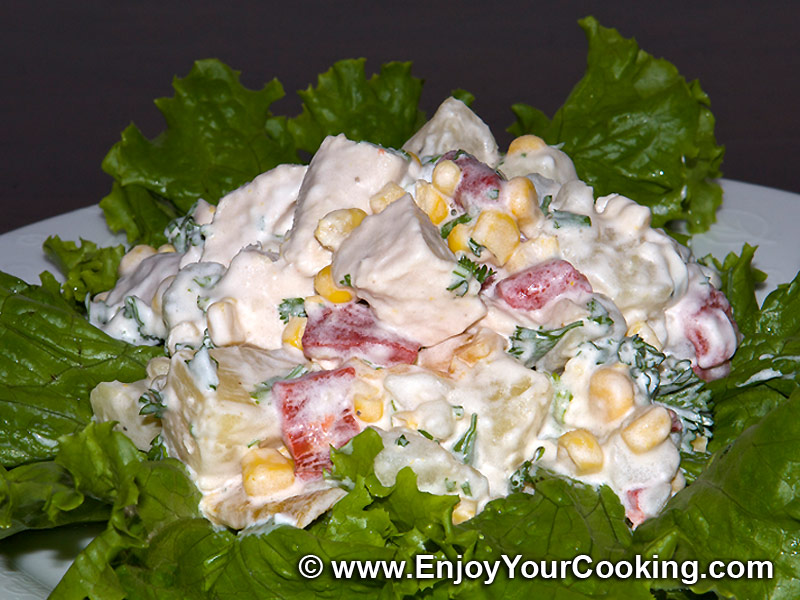 Chicken pineapple salad photo 2