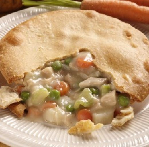 Chicken pot pie photo 2
