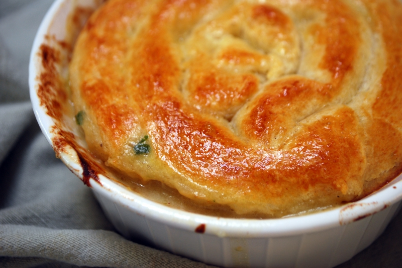 Chicken pot pie photo 1