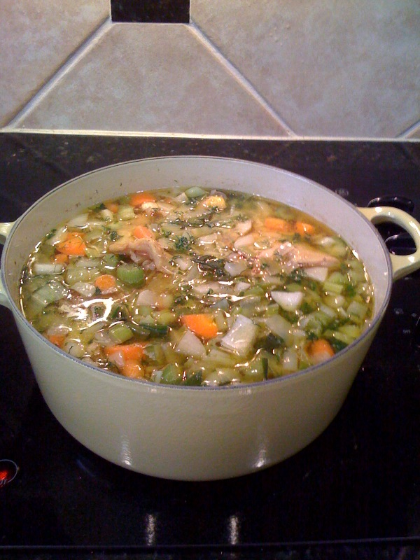 Chicken soup photo 2