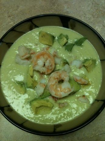 Chilled avocado and cucumber soup photo 2