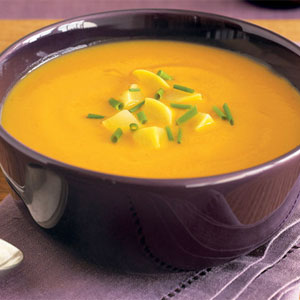 Chilled summer squash soup photo 1
