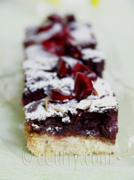 Chocolate almond bars photo 9