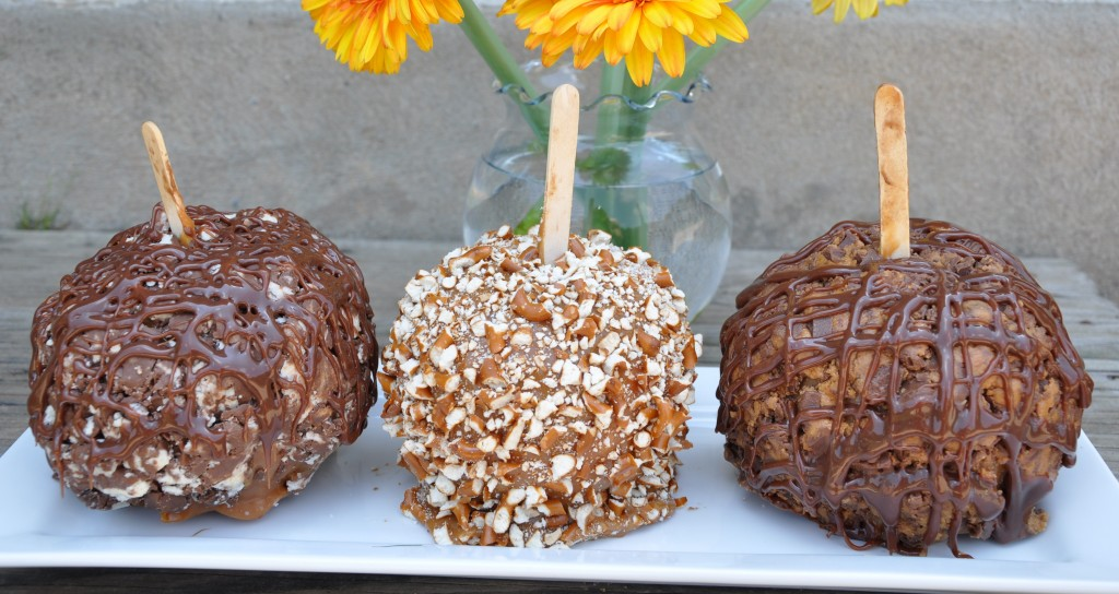 Chocolate caramel apples photo 1