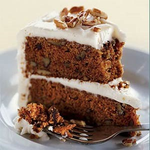 Chocolate carrot cake photo 3