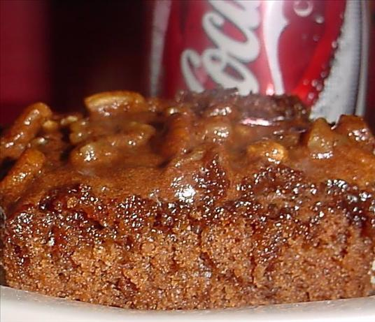Chocolate coca-cola cake photo 3