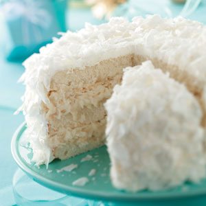 Chocolate coconut cake photo 1