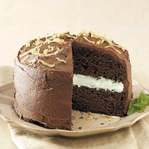 Chocolate coconut cake photo 2