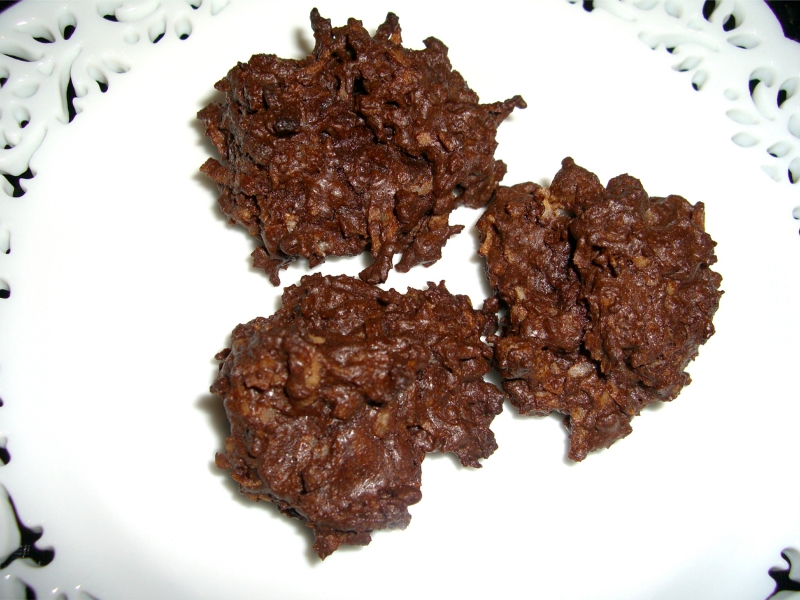 Chocolate coconut macaroons photo 5