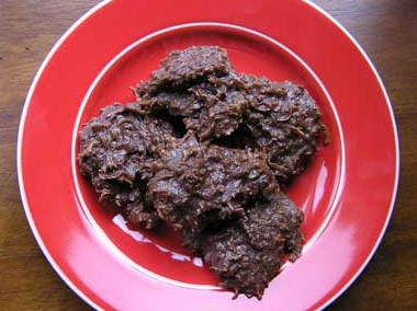 Chocolate coconut macaroons photo 2