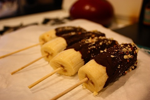 Chocolate covered bananas photo 1