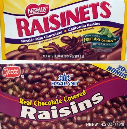 Chocolate covered raisins photo 4