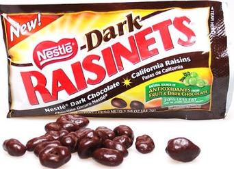 Chocolate covered raisins photo 2