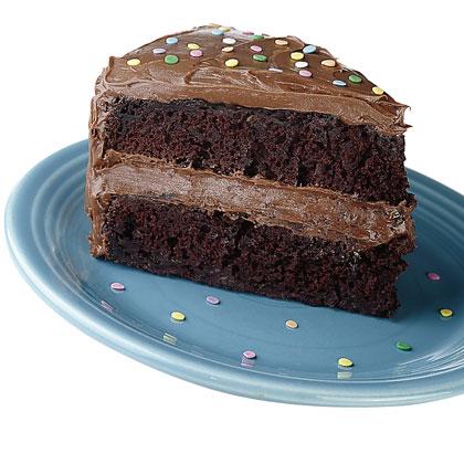 Chocolate deluxe zucchini cake photo 1
