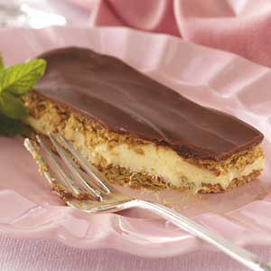 Chocolate eclair cake photo 1