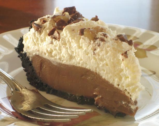Chocolate icebox pie photo 2