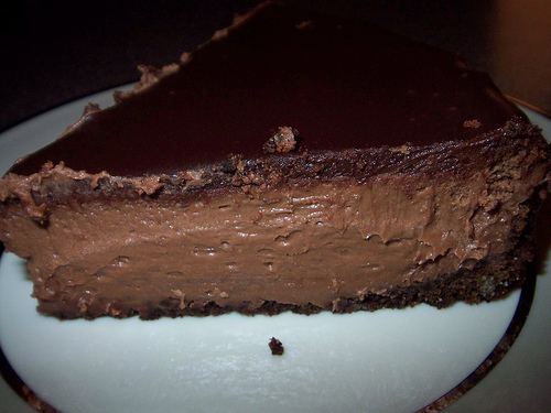Chocolate kahlua cheesecake photo 1