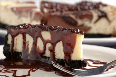 Chocolate kahlua cheesecake photo 2