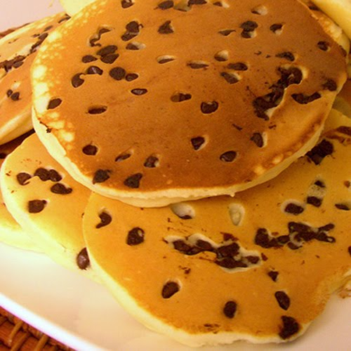 Chocolate pancakes photo 2