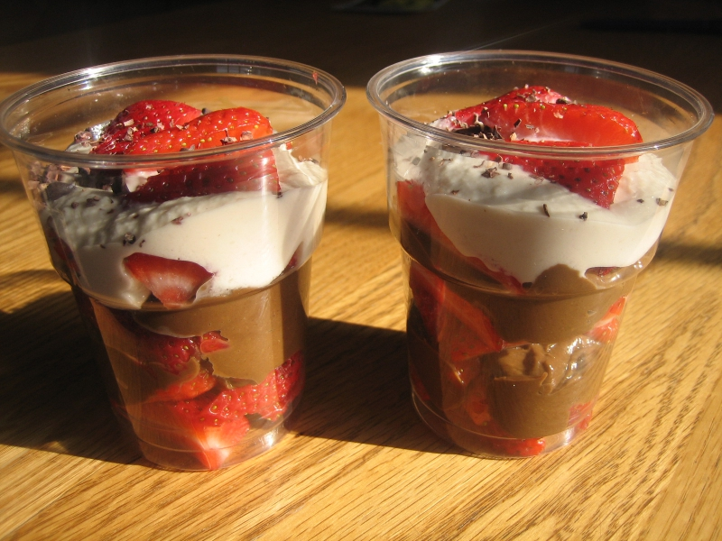 Chocolate parfaits photo 6