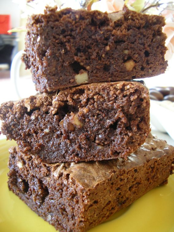 Chocolate peanut butter brownies photo 2