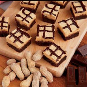 Chocolate peanut butter brownies photo 1