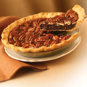 Chocolate pecan pie photo 2