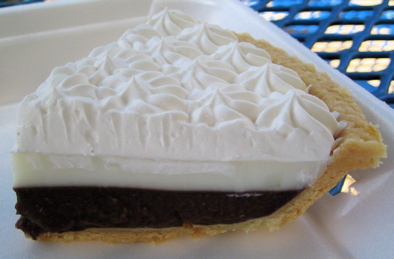 Chocolate pie photo 3