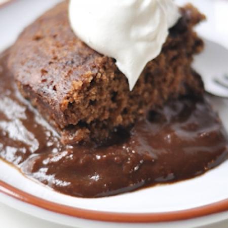 Chocolate pudding cake photo 2