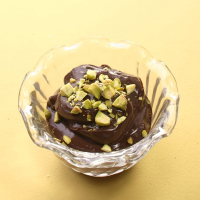 Chocolate pudding dessert photo 9