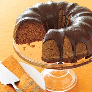 Chocolate pumpkin cake photo 2