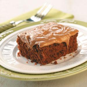 Chocolate sheet cake photo 3