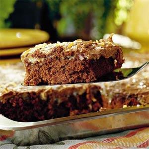 Chocolate sheet cake photo 2