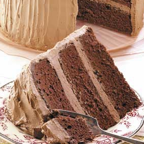 Chocolate sour cream cake photo 1