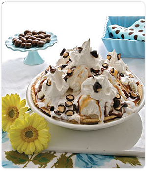 Chocolate sundae pie photo 1