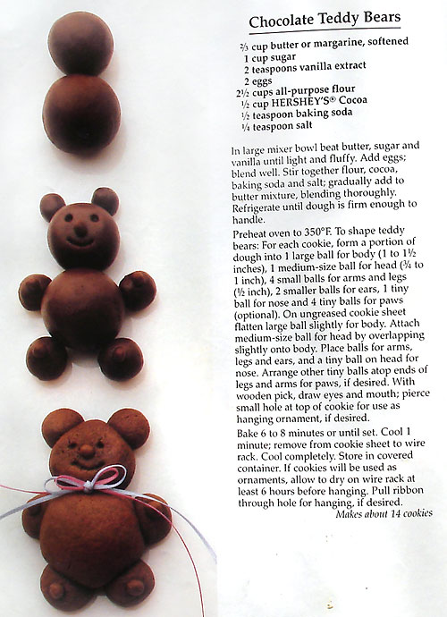 Chocolate teddy bears photo 2