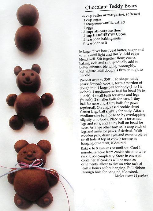 Chocolate teddy bears photo 2