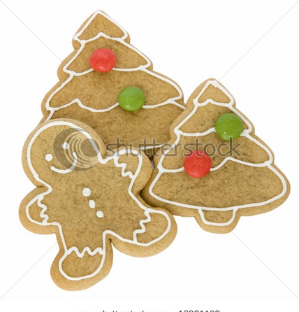 Christmas gingerbread cookies photo 5