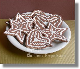 Christmas gingerbread cookies photo 3