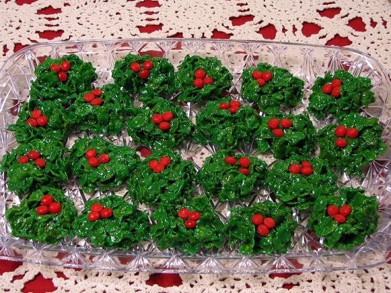 Christmas wreath cookies photo 2