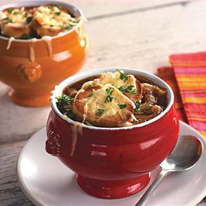 Classic onion soup photo 1