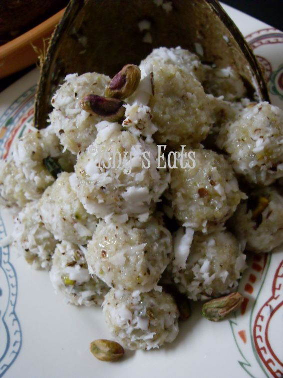 Coconut balls photo 1
