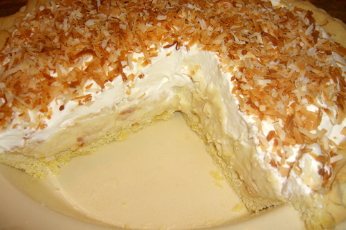 Coconut pie photo 1