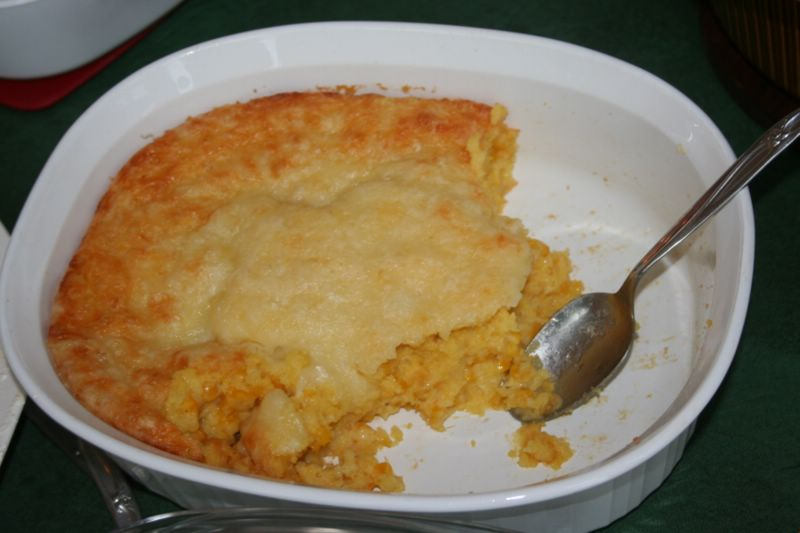 Corn and bacon casserole photo 2