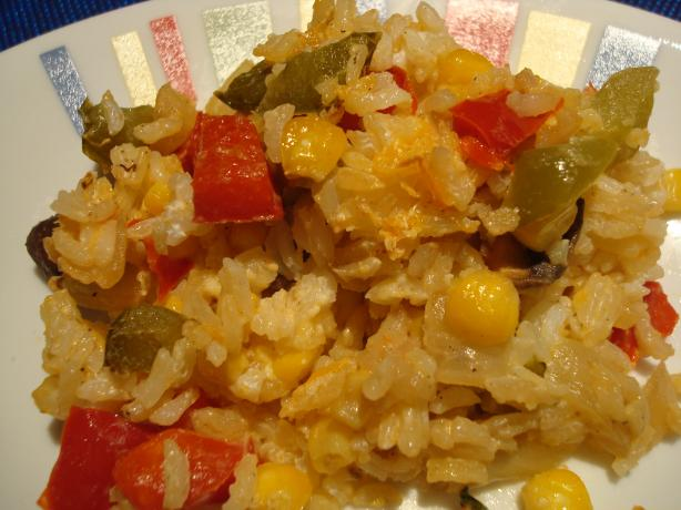 Corn and rice casserole photo 2