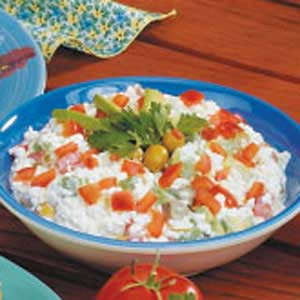 Cottage cheese salad photo 2