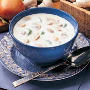 Country mushroom soup photo 1