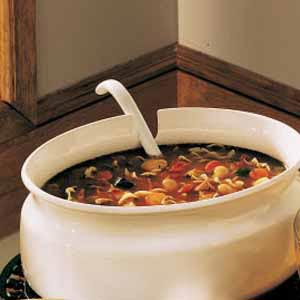 Country vegetable soup photo 1