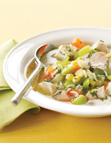 Country vegetable soup photo 2