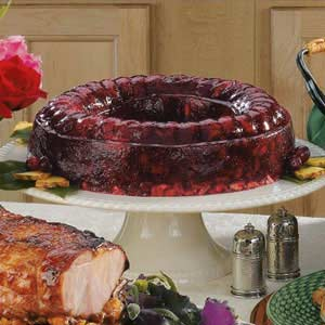 Cranberry gelatin mold photo 1